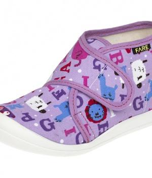 Dětské papuče na suchý zip Fare 4113446 16bcfbea27