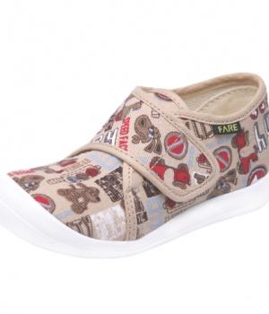 d5e34b521f5 Dětské papuče na suchý zip Fare 4115489