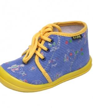 Dětské papuče šněrovací Fare 4011406 ebd703089f