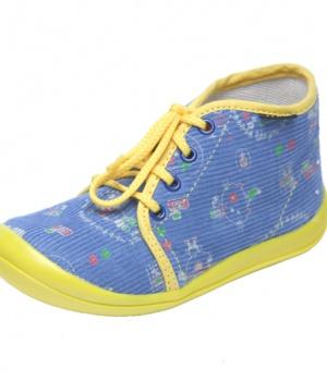 Domácí obuv. Novinka. Dětské papuče šněrovací Fare 4112407 93450e70ef