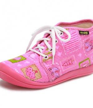 Dětská domácí kotníčková obuv Fare 4112445 27bb5ff1df