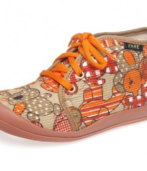 Dětská domácí kotníčková obuv Fare 4112481 475a142643