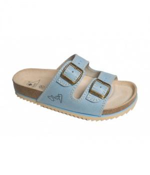 2c336545b84 Dvoupáskové zdravotní pantofle JASNÝ
