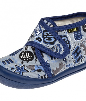 Dětské papuče na suchý zip Fare 4012407 677c274a92