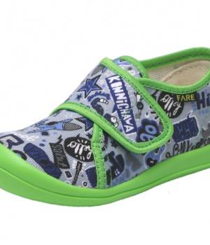 Dětské papuče na suchý zip Fare 4115409 3d452c2e11