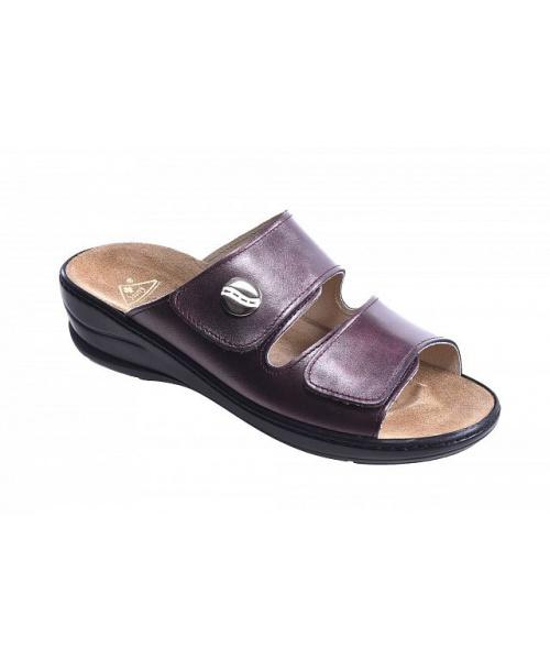 7aa489412fa Dámské zdravotní pantofle na klínku a na suchý zip